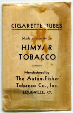 "1933 Vintage Package: ""Cigarette Tubes"" Paper Wrappers [Axton-Fisher Tobacco Co]"