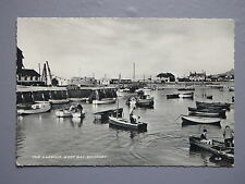 R&L Postcard: The Harbour West Bay, Bridport, Fishing/Rowing Boat