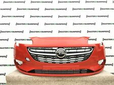 VAUXHALL CORSA E 2015 ON FRONT BUMPER IN RED GENUINE [Q91]