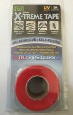 X-TREME TAPE - RED - SILICONE RUBBER TAPE, SELF FUSING, REPAIR WRAP INSULATING