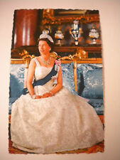 Vintage 1960's Her Majesty Queen Elizabeth II, British Photography Post Card