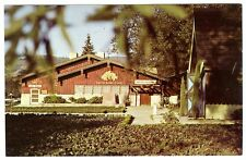 ASTI-SONOMA CALIFORNIA ITALIAN SWISS COLONY WINE TASTING ROOM~OLD 1950s POSTCARD
