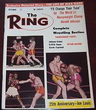 The Ring Magazine September 1962 Johnson / Dupas / Copeland / Scholz Collectable