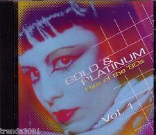 Gold Platinum Hits 80s Vol 1 Realm Records CD Classic Rock QUIET RIOT TOTO CARS