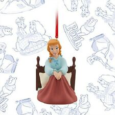 DISNEY STORE CINDERELLA IN THE MORNING SKETCHBOOK ORNAMENT LE OF 1000 NIB