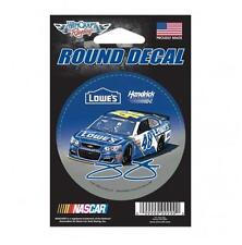 "Jimmie Johnson #48 3"" 2017 Lowes Round Decal Free Shipping"