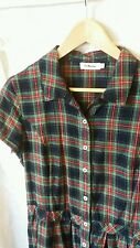 Dr Martens Tartan Check Shirt Dress (Size L)