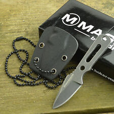 Boker Magnum Lil Friend Arrowhead 440 Stainless Fixed Blade Neck Knife 02SC754
