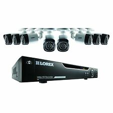 Lorex 1080p HD 8 Channel 2TB DVR Home Security CCTV Kit with 8 Cameras