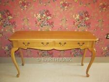 Ethan Allen Sofa Table Canterbury Oak Queen Anne Legs 28 9419 Finish 278