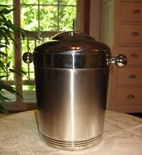 Copco Stainless Steel Ice Bucket Wine Chiller Champagne Cooler & Lid, EXCELLENT