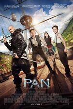PAN (2015)  Original Movie POSTER - Double Sided Regular Style B - Jolly Rodger