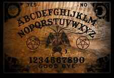 Ouija Board - Burnt Design from OccultBoards.com & Planchette (Free Shipping)