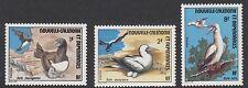 BIRDS : NEW CALEDONIA 1976 Ocean Birds set  SG 561-3 MNH
