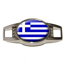 Greece Greek Flag - Shoe Sneaker Shoelace Charm