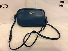 NWT. Coach Pebbled Leather Cross-body Pouch Bag Shoulder Bag F65988