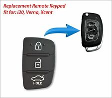 Replacement Remote Keypad to fit New i20, Verna, Xcent Flip Key Remotes