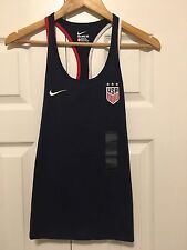 Nike US World Cup Women's USA Crest Tank ShIrt, Size XL, Embroidered Logo. BNWT
