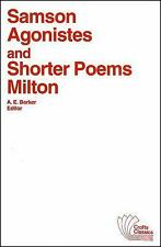Crofts Classics: Samson Agonistes and Shorter Poems by John Milton (1950)