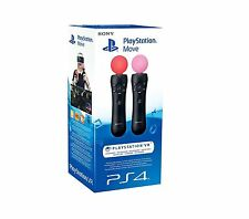 SONY PLAYSTATION PS4 PSVR MOVE CONTROLLERS TWIN PACK - LIMITED STOCK