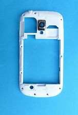 Genuine Samsung Galaxy S3 Mini  Chassis Frame housing Bezel -White Gi8190