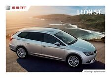 Seat Leon ST 2014 catalogue brochure