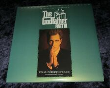 THE GODFATHER PART III  Laser Disc set  AL PACINO , Like New - remastered THX