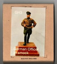 HORNET MODELS GH3 - GERMAN OFFICER IN SMOCK - 1/35 WHITE METAL
