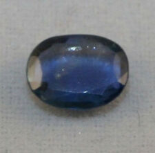 NATURAL BLUE SAPPHIRE LOOSE GEMSTONE 5X6MM OVAL 0.7CT FACETED GEM SA1
