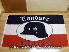 Fahnen Flagge Deutsches Reich Landser in Treue fest - 90 x 150 cm