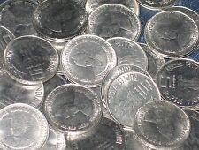 100 Coins LOT - 5 Rupees Commemorative Mixed Steel Coin - india