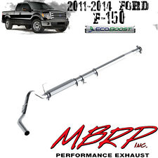 "MBRP 4"" Performance Aluminized Cat-Back Exhaust for 2011-2014 Ford F150 Ecoboost"