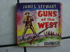 Gewehre des wilden Westens (James Stewart)- Super 8mm Film -  60 meter,,s/w.