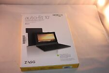 ZAGG Folio Case, Hinged with Bluetooth Keyboard for Android Tablets (10-inch)