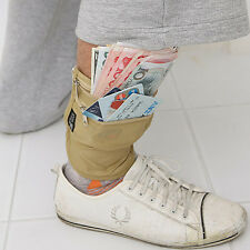 Security Leg Wallet / Hidden Money Passport Pouch Wallet Travel Gear
