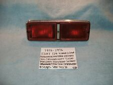 1973-1976 FIAT 128 GENUINE VINTAGE FACTORY OEM TAILLIGHT + HOUSING ASSEMBLY