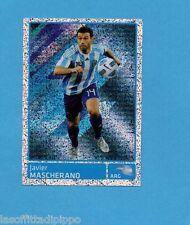 COPA AMERICA 2011 ARGENTINA-Figurina n.317- MASCHERANO - ARGENTINA -NEW BLACK
