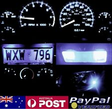 White Full LED Conversion Kit (dash HVAC Parkers roof) Nissan Patrol GQ 88-97