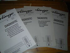 LOT DE 4 DOCUMENTS CITROËN BERLINGO...DIAGNOSTIQUE...ABS..INJECTION..AIRBAG etc