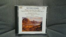 MENDELSSOHN - PIANO CONCERTOS 1 & 2, CAPRICCIO RONDO BRILLANT. CD NAXOS