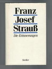 Franz Josef Strauß - Die Erinnerungen - 1989