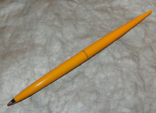 Vintage Yellow Parker Pen Desk Set Taper  New Made in USA