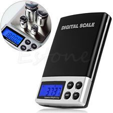 Digital Pocket Scale Gold Silver Jewelry Weight Balance Tool Device 500g x 0.01g