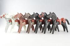 Playmobil ® - Western - 7 caballos con Western sillín (722)