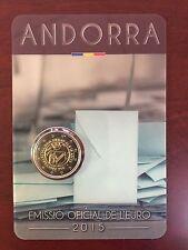 """Andorra 2 Euro Sondermünze (Gedenkmünze) """"Volljährigkeit"""" 2015 - Coincard"""