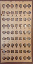 Indian Head Cents 1856-1909 Meghrig Board