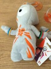 London 2012 Olympic Official Olympic Mascot Wenlock Plush Stick On with Tags