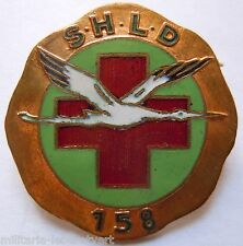 Insigne 1939 WWII Service de Santé SHLD 158 SECTION HYGIENE LAVAGE DESINFECTION