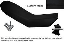 BLACK STITCH CUSTOM FITS KTM ADVENTURE 990 950 DUAL LEATHER SEAT COVER