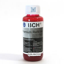 BCH Premium 100 ml Magenta Sublimation Pigment Ink for Epson (IS100M-AE)